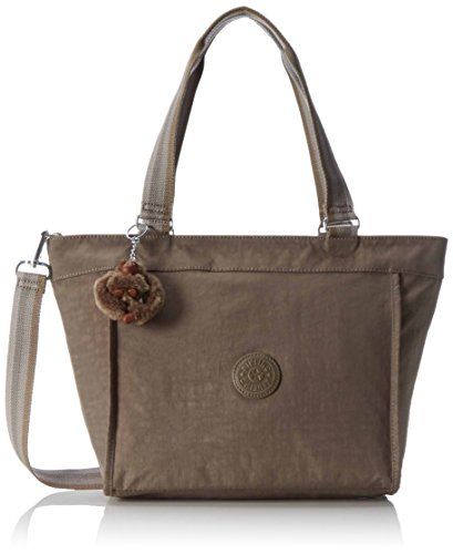 Kipling New Shopper S - Bolsos totes Mujer Marrón (Soft Earthy C)