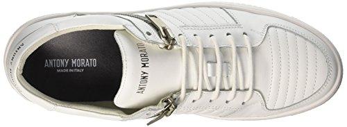 Antony Morato Men's Mmfw00907-le300001 Trainers White (Bianco 1000) n5nhY