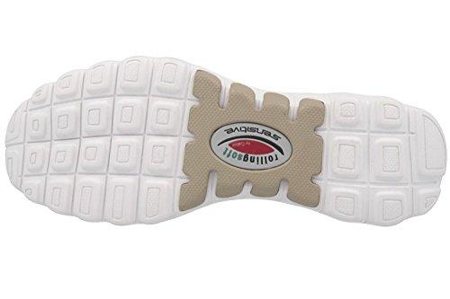 Gabor Shoes Rollingsoft, Zapatillas para Mujer gris claro