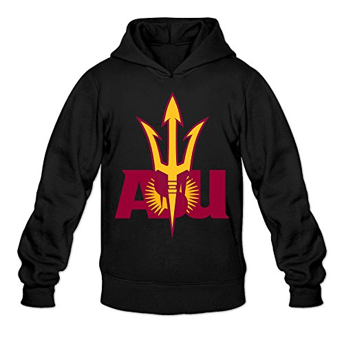 - CYANY Arizona State University ASU Women's Funniest Hoodies Hoodie LBlack