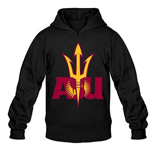(CYANY Arizona State University ASU Women's Funniest Hoodies Hoodie LBlack)