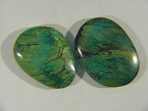 Genuine Natural Chinese Turquoise Lapidary Freeform Cabochon 9508C h
