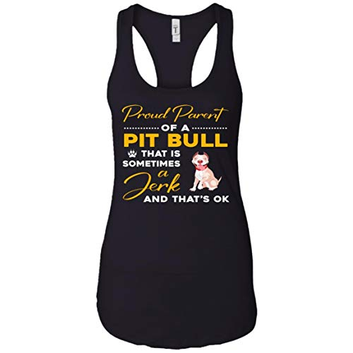 Pit Bull Mom and Dad - Funny Dog Lover Gift Shirt - Tank Top