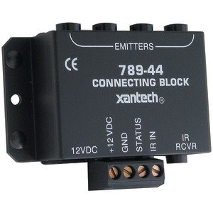 JAYBRAKE 789-44 Xantech 789-44 1-Zone Connecting Block (Without Power (Connecting Block)