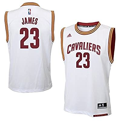 LeBron James Cleveland Cavaliers #23 NBA Youth Home Jersey White