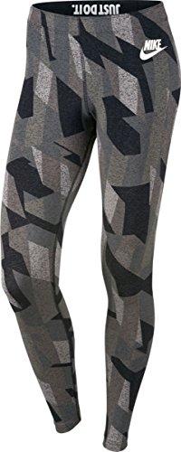 Nike W NSW LGGNG SKYSCRAPER womens athletic-leggings 846523-010_XL - BLACK///WHITE