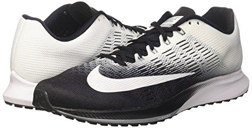 Nero white 001 black Uomo Stripe Slim Polo Grey Nike cool Collar Maglietta 1YwU8qa
