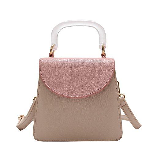 Modo Versione Jolly Sacchetto Spalla Di Asdyy Bag Partito Del Pink Selvaggio Coreana wx1fCXUn