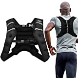 Aduro Sport Weighted Vest Workout Equipment, 4lbs/6lbs/12lbs/20lbs/25lbs Body Weight Vest for Men, Women, Kids (16 Pounds (7.26 KG))