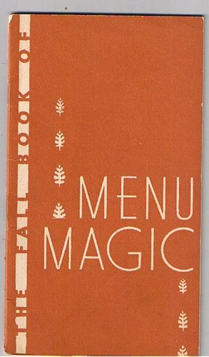 Uneeda Bakers The Fall Book of Menu Magic