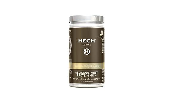 HECH ACTIVE Delicious proteína de suero leche de vainilla ...