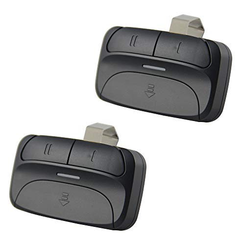 - Universal Garage Door Opener Remote for Chamberlain Liftmaster 375LM 375UT KLIK1U Genie Linear and More - 2 Pack