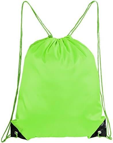 Mato & Hash Basic Drawstring Tote Cinch Sack Promotional Backpack Bag Cinchbag