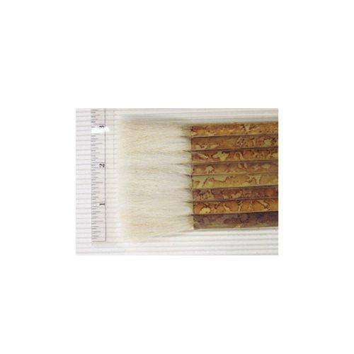Yasutomo Sheep Hair Short Bamboo Handle Hake Brush, 2-1/2 in Yasutomo Inc