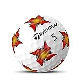 TaylorMade TP5 Pix Red/Yellow Golf Balls