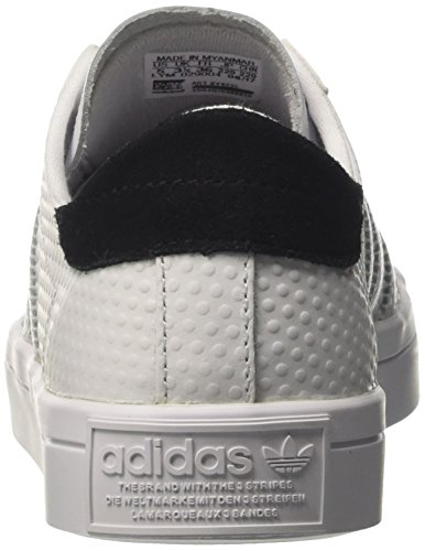 adidas Women's Courtvantage W Running Shoes, Bianco Multicolor (Ftwr White/Ftwr White/Core Black)