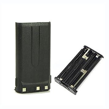 Hard Leather Carrying Case For Kenwood 2-Way Radio TK2107 TK-3107