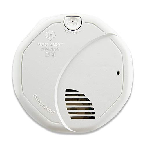 First Alert Dual-Sensor Smoke and Fire Alarm, Battery Powered, Frustration-Free Packaging, SA320CN