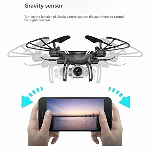 DAZZILYN Auto Return Quadcopter Remote Control Helicopter WiFi Real-time Four-axis Drone
