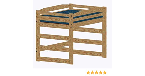 Loft Bed DIY Woodworking Plan to Build Your Own Full-Size Standard Loft and  Hardware Kit (Wood NOT Included)