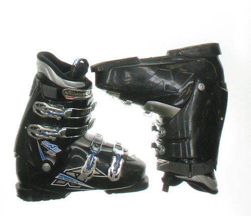 Used Nordica One Easy 5+ Black Ski Boots Men's Size 10.5 - (Nordica Mens Ski)