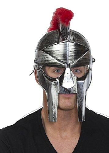 Centurion Helmet Costume (SILVER ROMAN CENTURION HELMET)