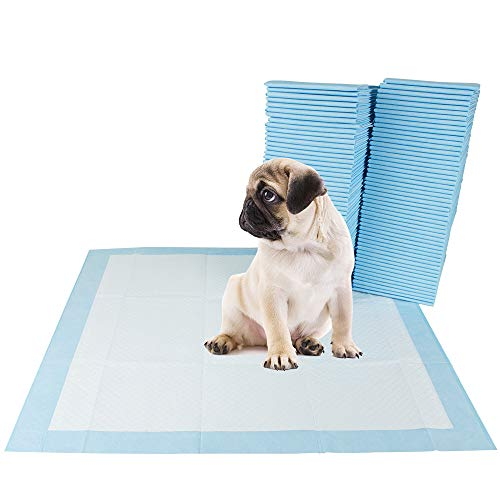 """BV Pet Potty Training Pee Pads for Dog and Puppy, 22"""" x 22"""", 100-Count"""
