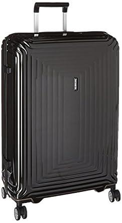 samsonite neopulse hardside spinner 75 28 metallic black suitcases. Black Bedroom Furniture Sets. Home Design Ideas