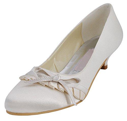 Heel Minitoo pour Escarpins 4cm Ivory femme X8YOTq