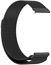 Dado Milanese Replacement Band Compatible with Samsung Galaxy Watch 4 classic 46mm 42mm/ Galaxy Watch 4 44mm 40mm , mesh type magnetic stainless steel band