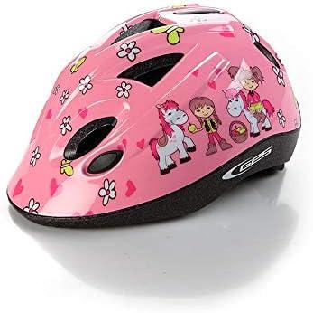 Casco Infantil Niño Niña Ciclismo Color Rosa 47-53 cm para ...