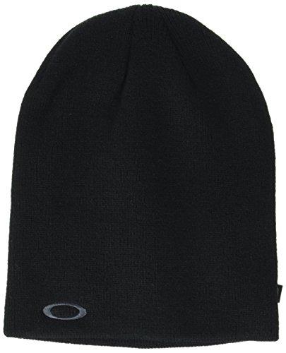 Oakley Fine Knit Beanie, Blackout, One Size