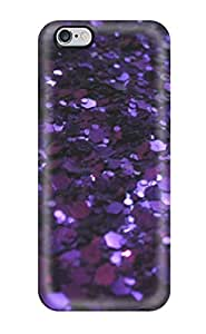 5s Scratch-proof Protection Case Cover For Iphone/ Hot Glittery Dark Purple Phone Case