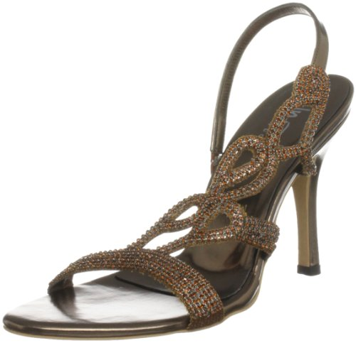 Braun Sandals L18184w Sandali Marrone col tacco Unze Evening donna 075fqzFTF