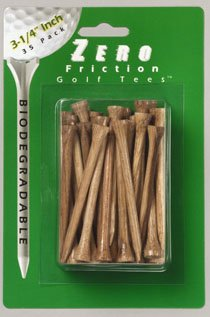 (Zero Friction Hardwood Golf Tees - 3 1/4 Inch)