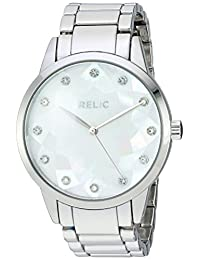 Relic Women's 'Erin' Quartz Metal and Alloy Casual Watch, Color:Silver-Toned (Model: ZR12201)