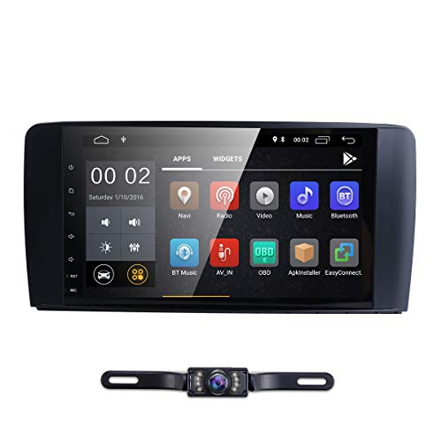 hizpo in Dash 9 Inch Android 8.1 Car Radio GPS Navigation Stereo for Mercedes Benz ML GL W164 Auto GPS Navigation WiFi Bluetooth Touch Screen Mirror Link DAB OBD2 DVR TPMS