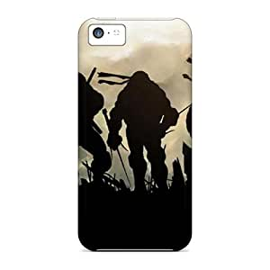 Hot Tpu Cover Case For Iphone/ 5c Case Cover Skin - Tmnt