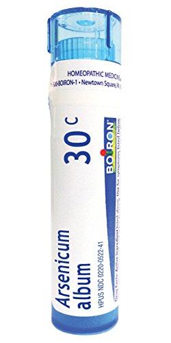 - Boiron Homeopathic Medicine Arsenicum Album, 30C Pellets, 80-Count Tubes (Pack of 5)