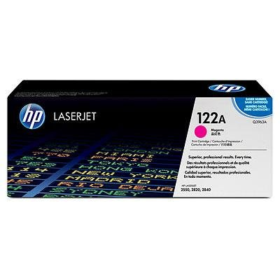 - HP Q3963A 122A Magenta Original Toner Cartridge for Color LaserJet 2550 2800 2820 2830 2840 - 4,000 Pages
