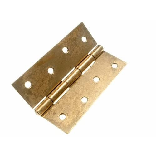 Cheap 6 Of Butt Hinge Door Gate Eb Brass Plated Steel