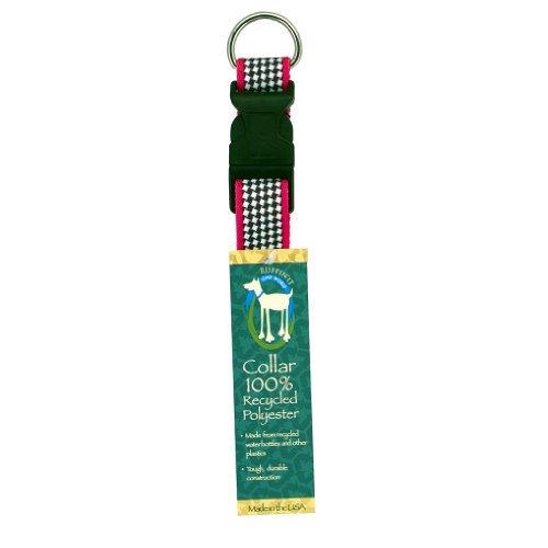 Westminster Pet 81021-1 100% Recyled Polyester Adj Dog Collar Houndstooth