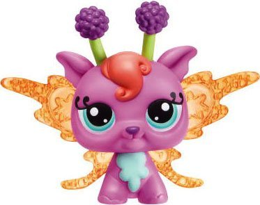 Hasbro Littlest Pet Shop Fairies Light Up Lotus Lily Fairy Figure #2728