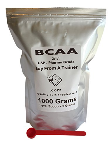 1000g BCAA 211 Branched Chain Amino Acid Pure Powder EZ Mix Ultra-Micronized B.C.A.A. Recovery Kilo Kilogram