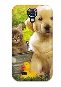 Hot Fashion OMlOkdl7792NxAVK Design Case Cover For Galaxy S4 Protective Case (puppy Dog Animal Free )
