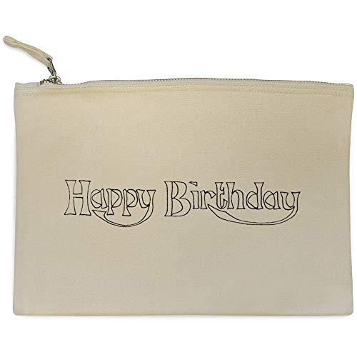 Accesorios Bolso 'feliz Cumpleaños' cl00006823 Azeeda Embrague De Case XpFzzw