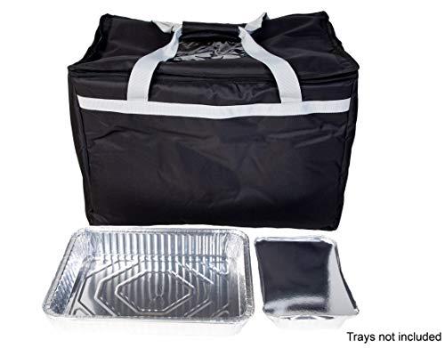 Candid- Insulated Food Delivery Bag (21''L x 14''W x 15''H), Hot/Cold Thermal Lightweight Grocery, Catering, or Party Bag. by CANDID