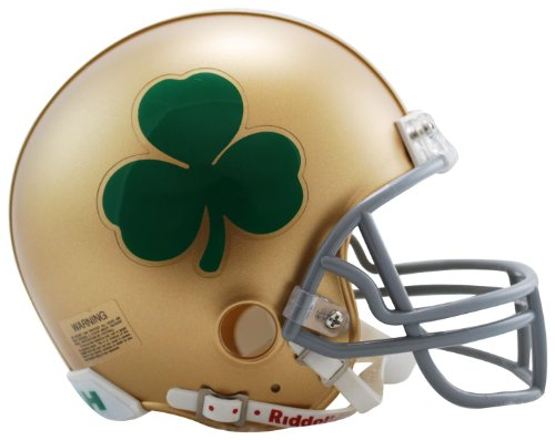 (NCAA Notre Dame Fighting Irish Speed Mini Helmet)