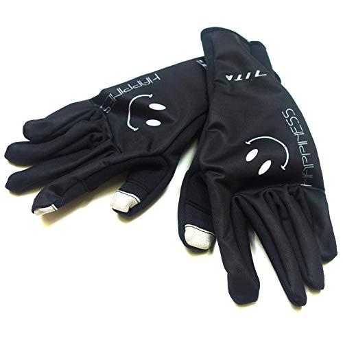 適度な専ら拍手するセブンイタリア Smile Winter Gloves ブラック XL(78W-SMI-WG-BKXL)