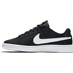 Nike Womens Wmns Court Royale Black White Size 9.5